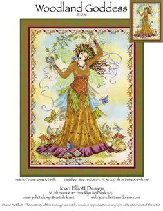 want to do fairy enchantment joan elliott cross stitch