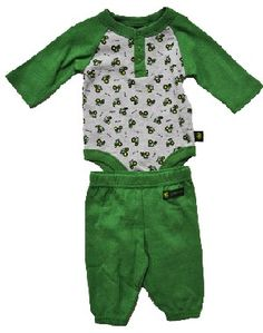 John Deere Baby Outfit oh I love it Baby Boy Shoes, Baby Boy Outfits, Kids Outfits, Mommys Boy, New Baby Boys, John Deere Baby, Having A Baby Boy, Baby Kids Clothes, Baby Wearing