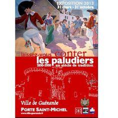 Exposition Laissez-vous conter les paludiers 2013 à Guérande. Du 31 mars au 31 octobre 2013 à Guérande.