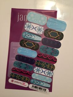Going to Disney World? Show your #disneyside on your nails with these awesome Frozen-Inspired Jamberry Nail Wraps! This is my custom design and can be ordered using the form linked through the image! Email questions or custom design requests to jamswithjenna@gmail.com