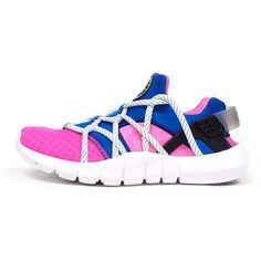 3c9d6640838b Latest Arrival 2015 Nike Air Huarache Free Run NM 2 Sneakers Mens  Pink Blue-White Shoes
