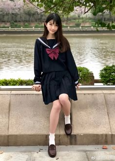 Technically, it was probably the Nyan cat song (because itatasinti's media statistics and analytics School Girl Japan, School Girl Dress, Japan Girl, Cute School Uniforms, School Uniform Girls, Girls Uniforms, Cute Asian Girls, Cute Girls, Cute Fashion