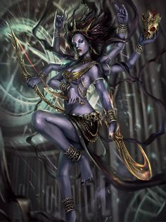 Meet Kali, another AI from my novel -The Bodhisattva of Attika. Lord Obsidian is her beloved master.