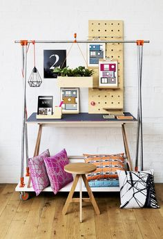 Creative Work Station -Warehouse Home, Capsule Collection, home accessories, interior styling, home decor