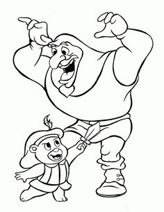 Gummi Bears Coloring Pages 1