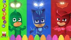 PJ Masks Movie Finger Family Nursery Rhymes ◕‿◕ Kids Songs TV
