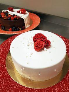 Half and half cake - hälften hälften tårta