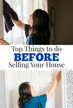 Simple things you can do before selling your house. These things can make a huge difference! Sell your house quickly by preparing your house the right way.Informations About Things to do BEFORE Selling Your House - Girl Loves Glam PinYou can easily u Sell My House, Up House, Selling Your House, Glam House, Cute Dorm Rooms, Cool Rooms, Home Selling Tips, Selling House Tips Cleaning, Farmhouse Side Table