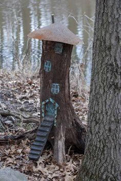 Fairy Houses for the Garden | Fairy House Exhibit Opens - Taltree Arboretum…