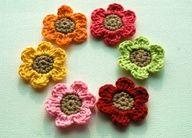 crochet flower patterns