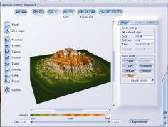 3DK.org : Tutorials : Vue 5: Making of The Mountain