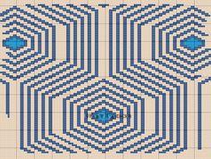 FREE PATTERN ; free crochet chart for tapestry crochet