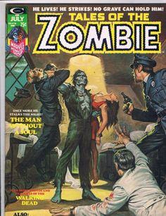 Tales Of The Zombie #06    Pencils: Earl Norem (Painting)   Inks: Earl Norem (Painting)  Colors: Earl Norem (Painting)  Marvel (July1974)
