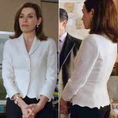 Alicia Florrick's looked clean and elegant on this week's The Good Wife