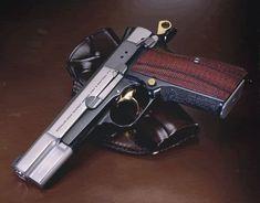 Browning Hi Power Firearms, Shotguns, Shooting Guns, Steel Art, Guns And Ammo, Weapons Guns, Concealed Carry, Self Defense, Tactical Gear