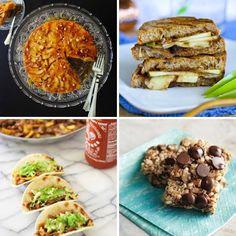 Golden Apple Ginger Cake & Mu Shu Mini Tacos — Delicious Links