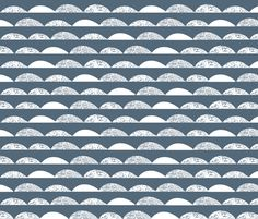 ©  Copyright  Andrea Lauren -  You are permitted to sell items you make with this fabric, but request you credit Andrea Lauren as the designer. Coordinates: Solids -- Warm, Solids - Cool, Dots  View the Entire Scallop Collection
