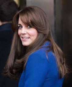 The Evolution of Kate Middleton's Bangs