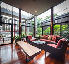 In-House Garden Makes Your Residence Breathe, Bangkok