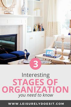 Do you know there are multiple stages you might go through when organizing your home? Here are some ideas to help alleviate the stress of decluttering your house according to the phase you're in. #homeorganization #organizing #organize #organization #declutter  via @Leisurely Does It Declutter Your Home, Organize Your Life, Organizing Your Home, Getting Rid Of Clutter, Getting Organized, Cleaning Schedule Printable, Home Organization Hacks, Paper Storage, Spring Cleaning