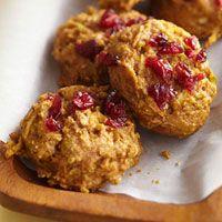 Apple pumpkin breakfast muffin cookies; 68 calories when using brown sugar splenda