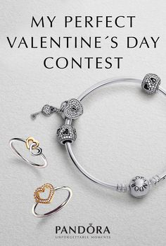 THE VALENTINE'S COLLECTION | HEARTFELT JEWELLERY FOR YOUR LOVE | PANDORA #PANDORAvalentinescontest