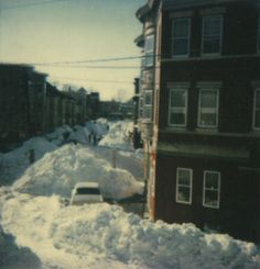 Cambridge, Massachusetts in the blizzard of 1978. Year I was born! Now this is some snow!! U stlouis people are wussies!!