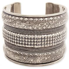 Embossed Cuff Bracelet - Mother's Day: Jewelry - Events