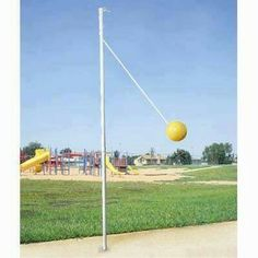 Teather ball...a must! I loved having one in my back yard growing up! So fun!!!