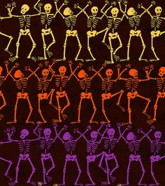 Holiday Inspirations Susan Winget Skeleton Stripe Fabric : holiday fabric : fabric :  Shop | Joann.com Halloween Tags, Halloween Dress, Halloween Stuff, Halloween Backgrounds, Halloween Wallpaper, Decoupage Printables, Kids Rings, Decoupage Paper, Striped Fabrics