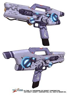 Awesome weapon concepts.
