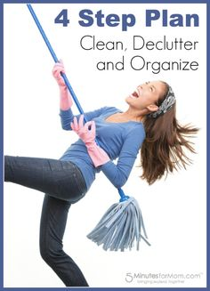 How to Clean and Declutter - When you REALLY Don't Want To.