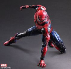 Marvel Variant Square-Enix Spider-Man Play Arts Kai Figure