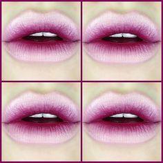 Ombré lips: Aprenda a usar o batom em degradê - Site de Beleza e Moda