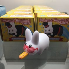 Personal Happiness Labbits are 15% off for today's Daily Deal! Which Labbit will bring you happiness?  #labbit #labbits #cute #rabbit #hotdog #mustard #kozik #frankkozik #kidrobot #blindbox #arttoys #arttoy #vinyltoy #vinyltoys #designertoys #desgnertoy #designer #designers #art #vinyl #toy #toys #collectibles #collectible #markham #mindzai #toronto