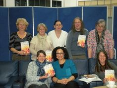 Here I am with the Yardley Wood Library Book Group discussing Comforts For The Troops. A lovely afternoon of book chat, tea and cake. 5 March 2016.