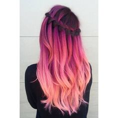 21 Pastel Hair Ideas You'll Love ❤ liked on Polyvore featuring accessories, hair accessories and hair