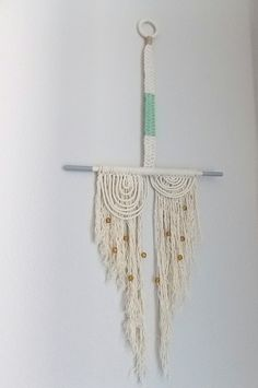 "Macrame Wall Hanging ""Harmony"" by Himo Art, One of a kind Handcrafted Macrame via Etsy"