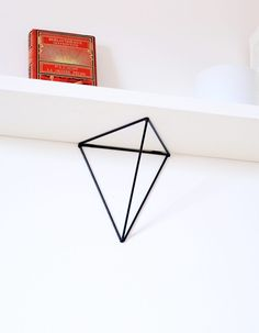 Online shopping from a great selection at Home Store. France Craft, Geometric Shelves, Metal Shelf Brackets, Black Shelves, Shelving Systems, Wall Racks, At Home Store, House Styles, Storage