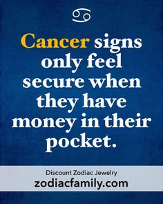 Oh so true... Cancer Life | Cancer Season #cancerians #cancerbaby #cancerhoroscope #cancerian #cancersign #cancer♋️ #teamcancer #cancers #cancerwoman #cancernation