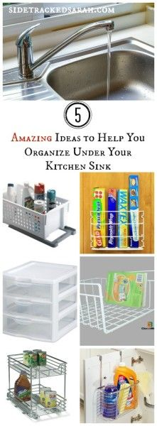 Lots of amazing Kitchen Organizing ideas here!