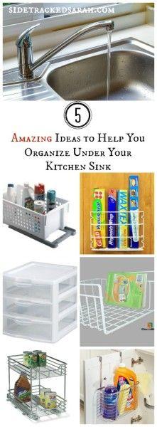 Lots of amazing Kitchen Organizing ideas here!