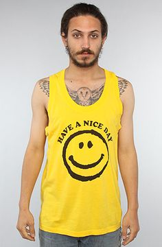 The Have A Nice Day Tank in Lemon Chrome by Freshjive