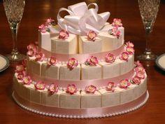 CHERRY BLOSSOM wedding favor cake centerpiece - we can do any color any occassion