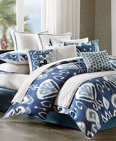 Love this bedding. King. Echo Bedding, Bansuri Comforter Sets - Echo - Bed & Bath - Macy's