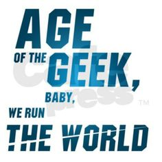 Age of the geek baby