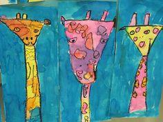 Lines, Dots, and Doodles: Giraffes, Kindergarten