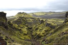 Center of the Laki Fissure, Iceland 1783 Eruption
