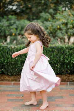 This adorable flower girl dress: http://www.stylemepretty.com/little-black-book-blog/2015/02/25/dazzling-hot-pink-wedding-inspiration-a-pop-of-confetti/ | Photography: Caroline Lima - http://www.carolinelima.com/