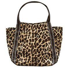 Leopard Print Faux Fur Large Hand Bag  $28.00